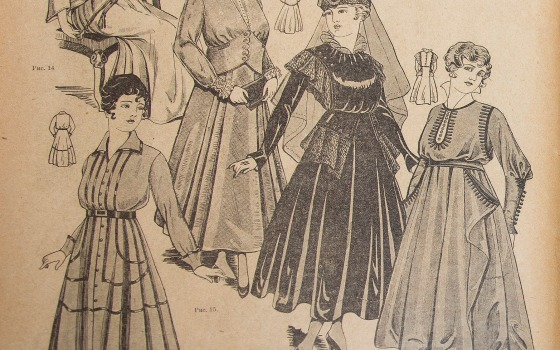 Модницы из прошлого: как и у кого одевались одесситки (фото) «фото»