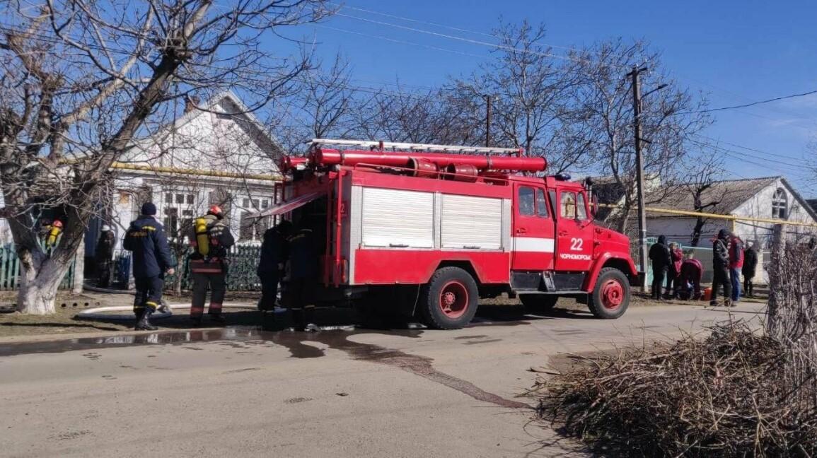 Под Одессой на пожаре в частном доме погиб пожилой хозяин «фото»