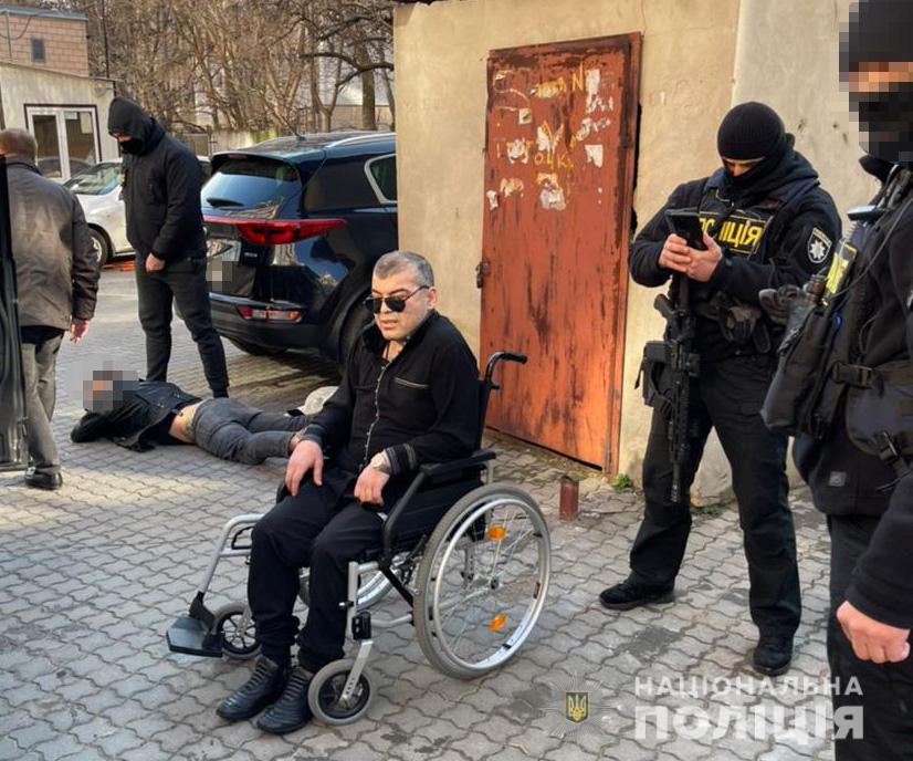 В Одессе задержали «вора в законе» с гражданством РФ (фото) «фото»