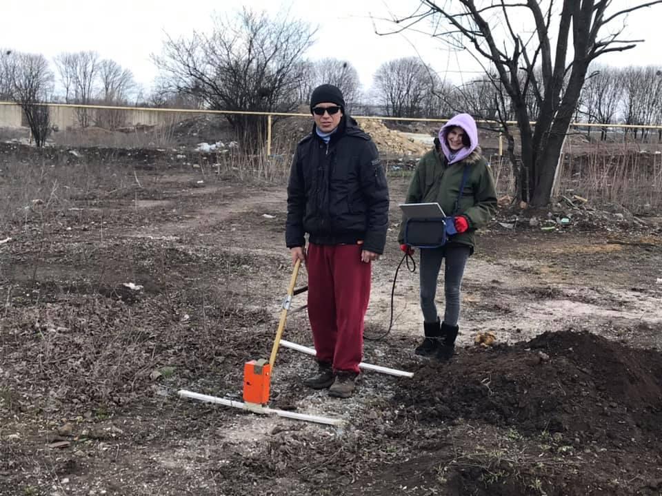 На 6 километре начались исследования на местах массового захоронения (фото) «фото»