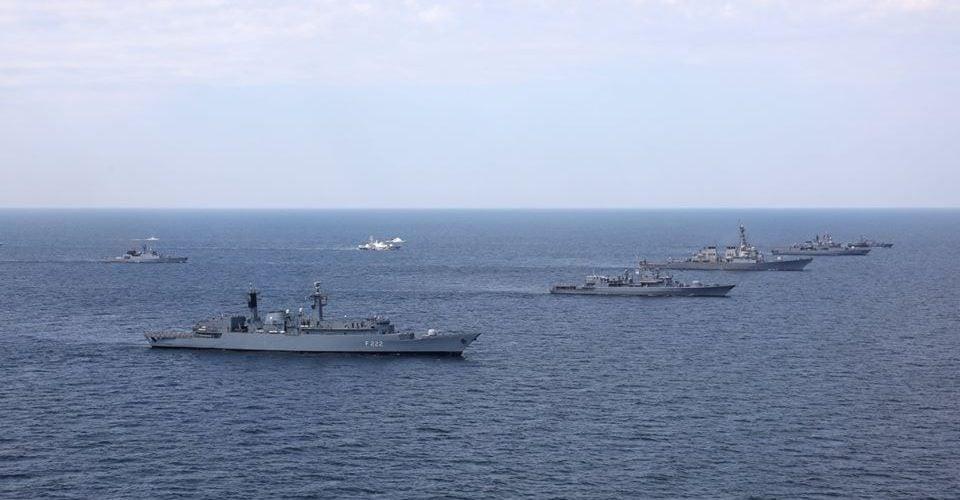 Работа Одесского и еще 5 портов ограничена из-за военно-морских учений «фото»