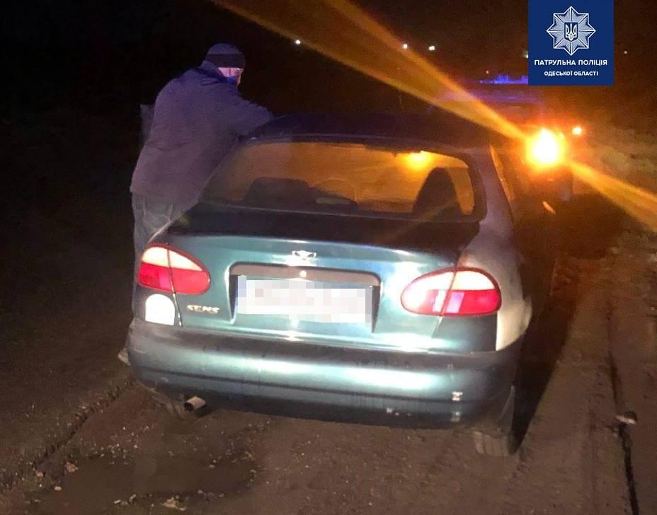 В Одессе оштрафовали пьяного водителя: он хотел откупиться «фото»