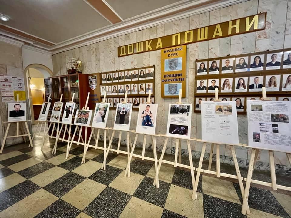 В Одессе открыли фотовыставку памяти полицейского, убитого сталинистом Дорошенко (фото) «фото»