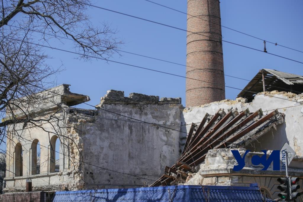 Фабрика мороженого через месяц после обрушения: исчезающая память Одессы (фото) «фото»