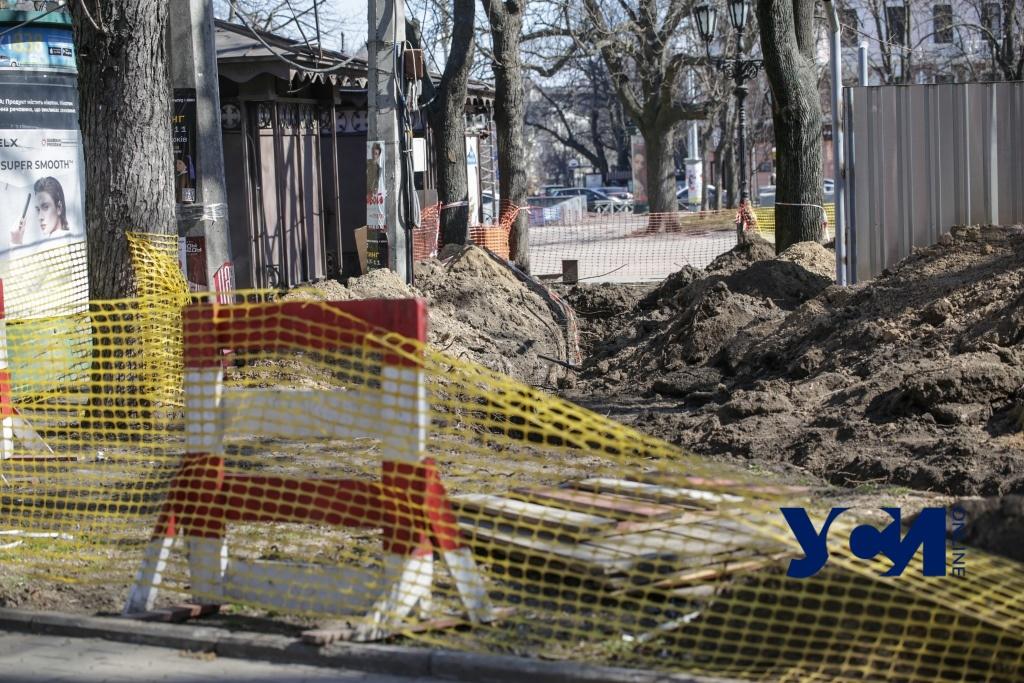 На Соборке вырыли траншеи и поставили забор: там будет трансформатор (фото) «фото»