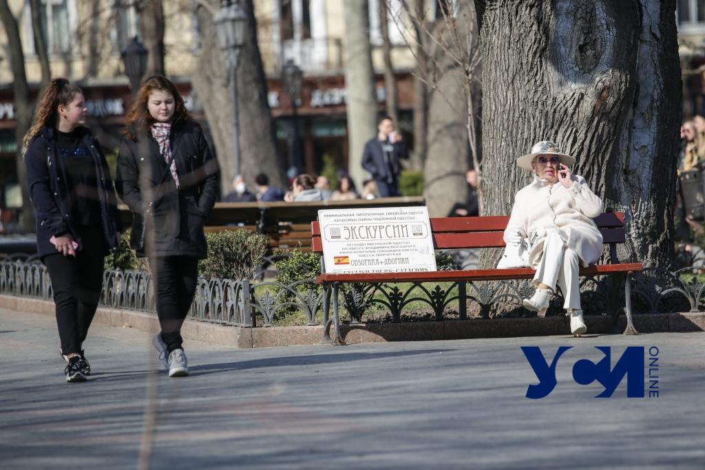 Последний день марта: в Одессе наконец весна (фото) «фото»