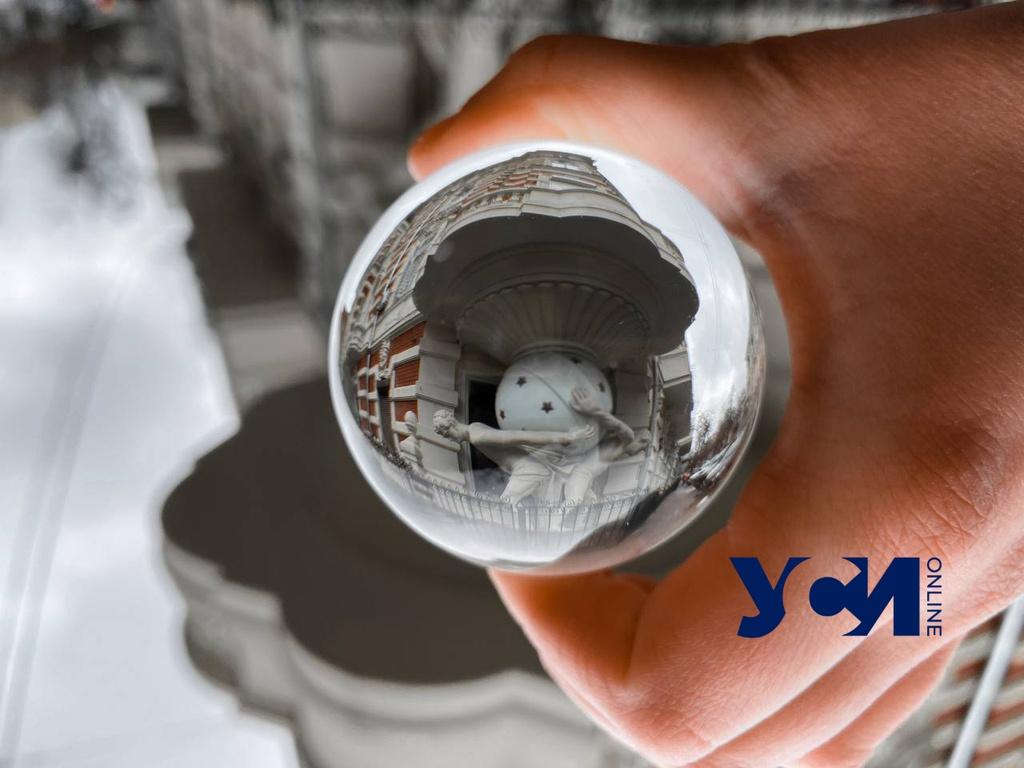 Магия преломления: символы Одессы сквозь призму хрустальной сферы (фото) «фото»