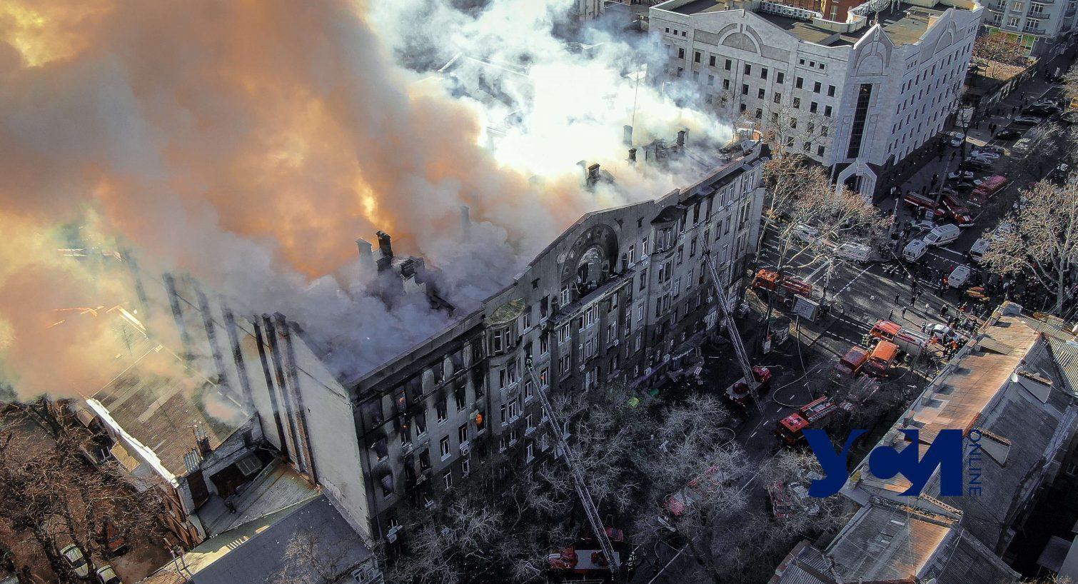 Сгоревший колледж на Троицкой хотят передать городу и перенести туда архив «фото»