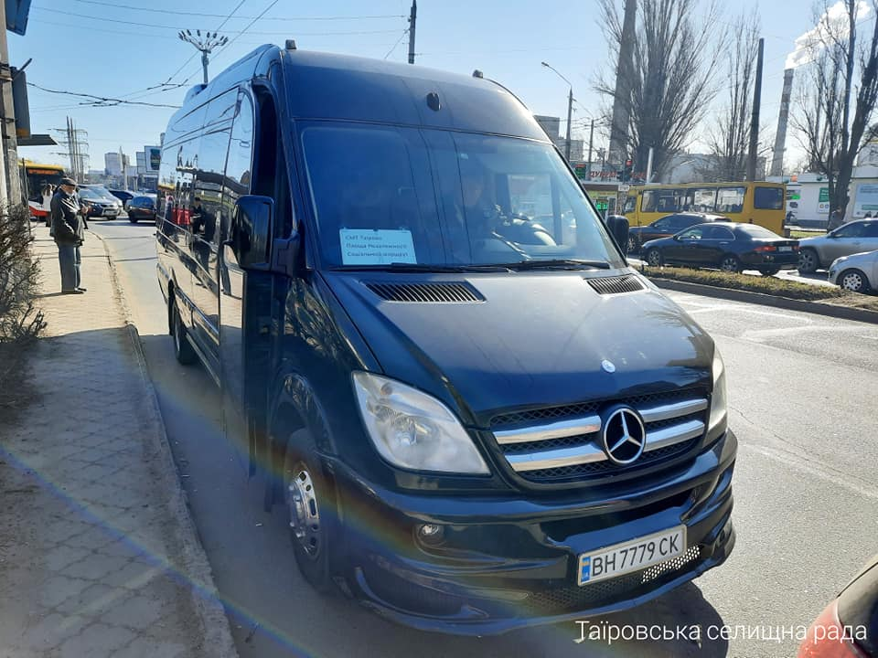 Из Таирово в Одессу начала ходить бесплатная маршрутка (фото) «фото»
