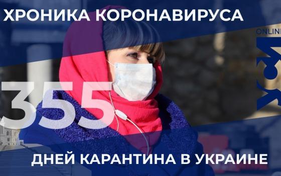 Хроника COVID-19: в Одесской области 207 новых заболевших «фото»