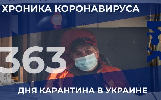 Хроника COVID-19: в Одесской области уровень заболеваемости идет на спад «фото»
