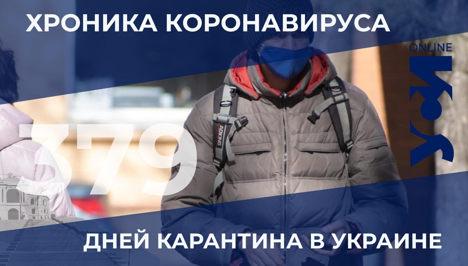 Пандемия: 25 летальных случаев за сутки в Одесской области «фото»