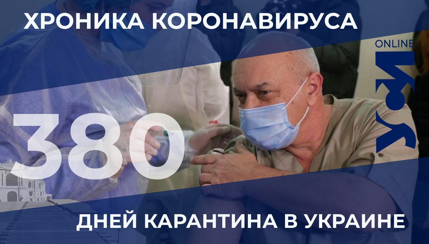 Хроника коронавируса: Одесская область — лидер по заболеваемости «фото»
