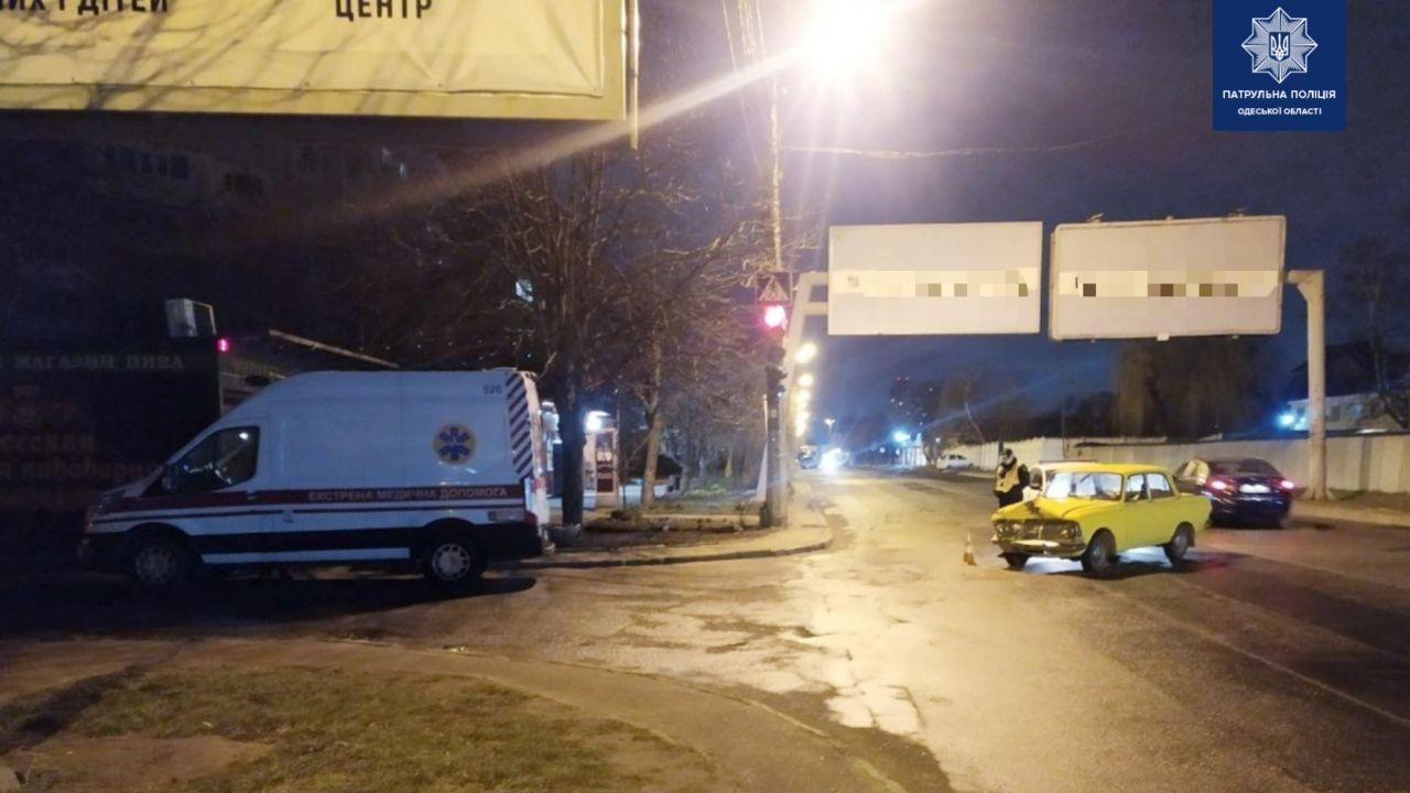 В Одессе в ДТП попала «скорая» (фото) «фото»