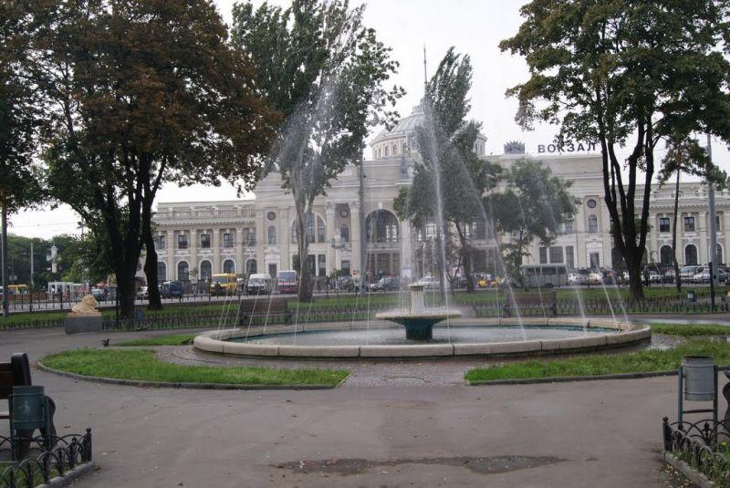 На Привокзальной площади планируют реконструкцию фонтана «фото»