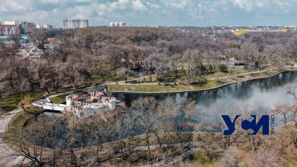 Красота Дюковского парка с высоты птичьего полета (фото) «фото»