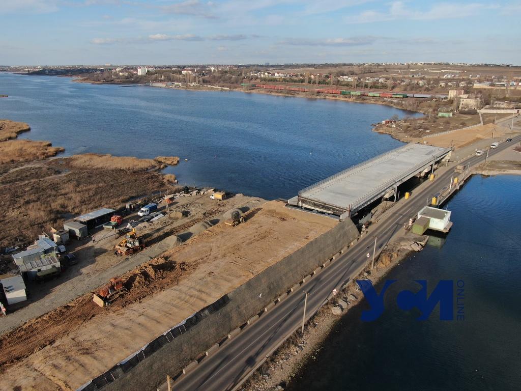 Мост через Сухой лиман: от проекта к пятилетнему долгострою (фото, видео) «фото»