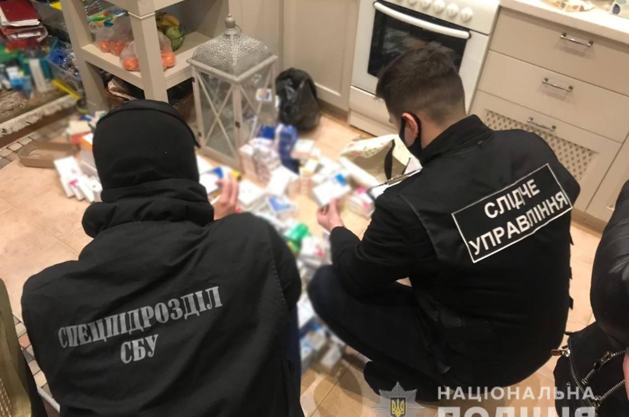 Одесситы поставляли в аптеки запрещенные препараты из РФ (фото) «фото»