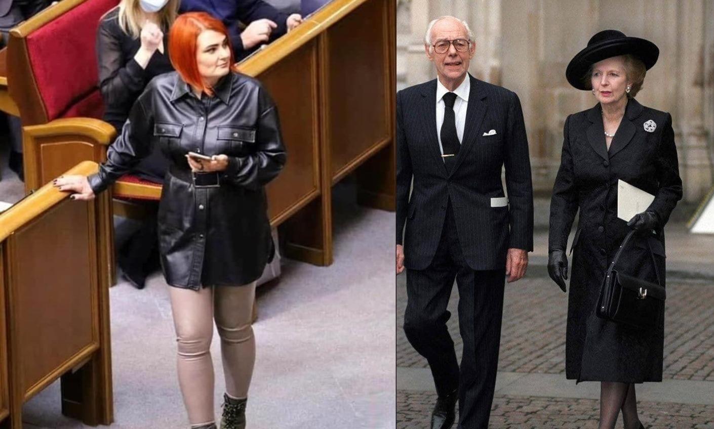 Парламентский fashion в Украине и Британии «фото»