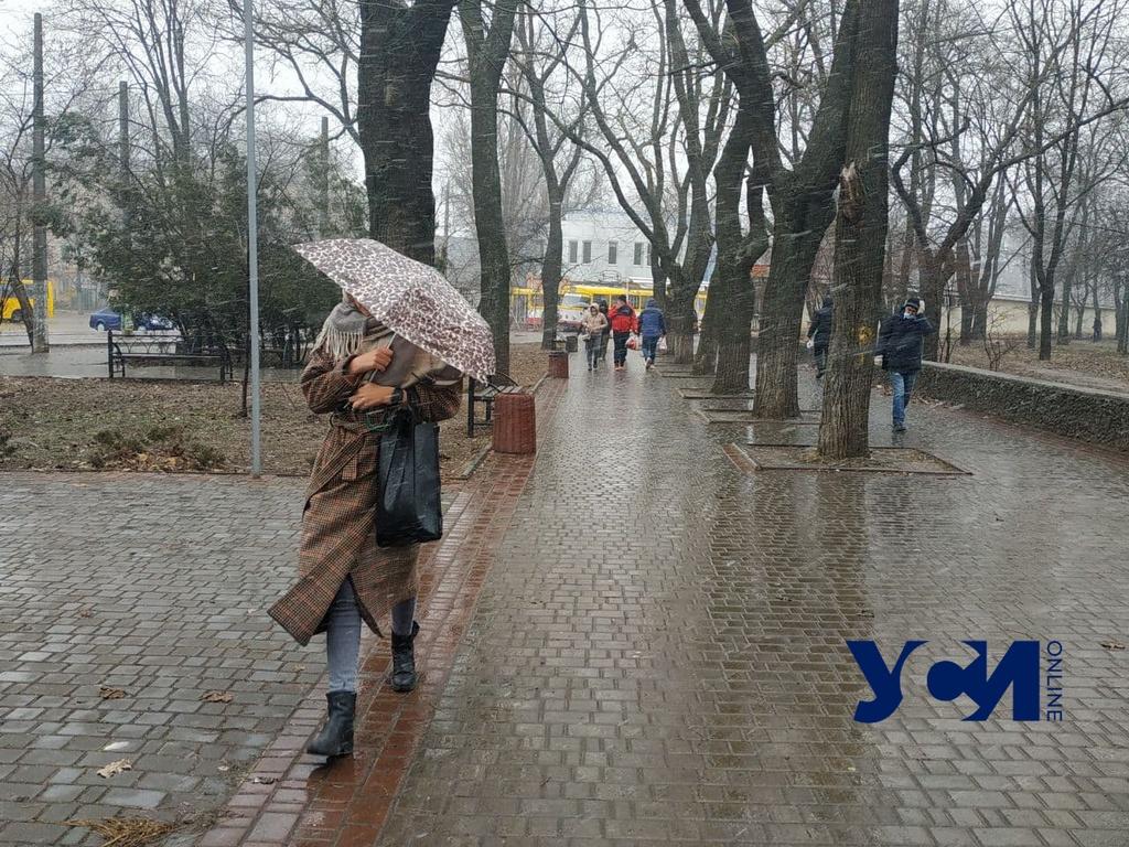 В субботу в Одессе потеплеет до +7° и пойдет дождь «фото»