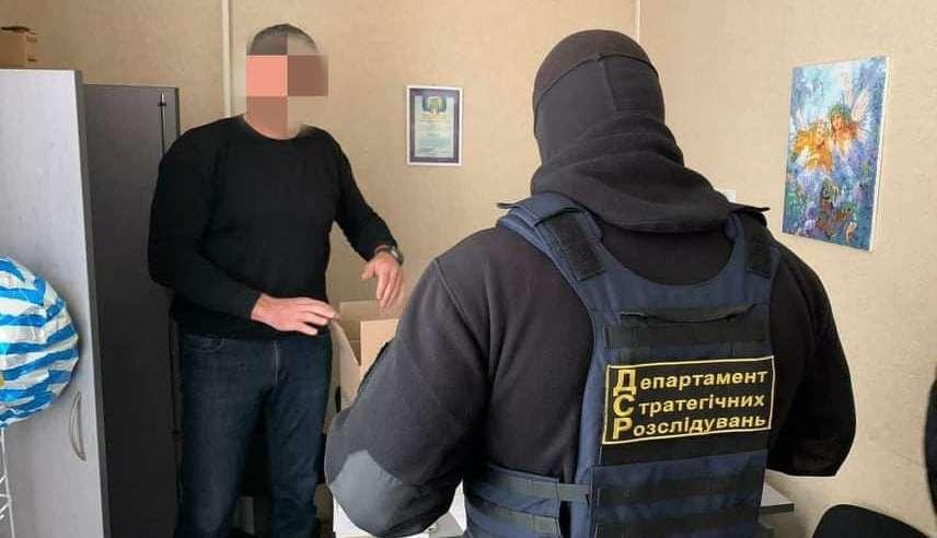 Чиновника Госпотребслужбы задержали на взятке в 5 тысяч гривен (фото) «фото»