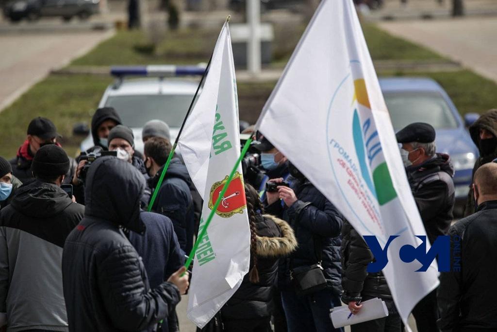 Предприниматели Одессы вышли на митинг против усиленного карантина (фото, аудио) «фото»