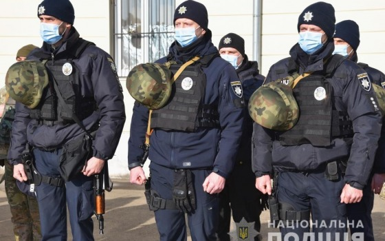 Одесские бойцы «Шторма» отправились на ротацию в зону ООС (фото) «фото»