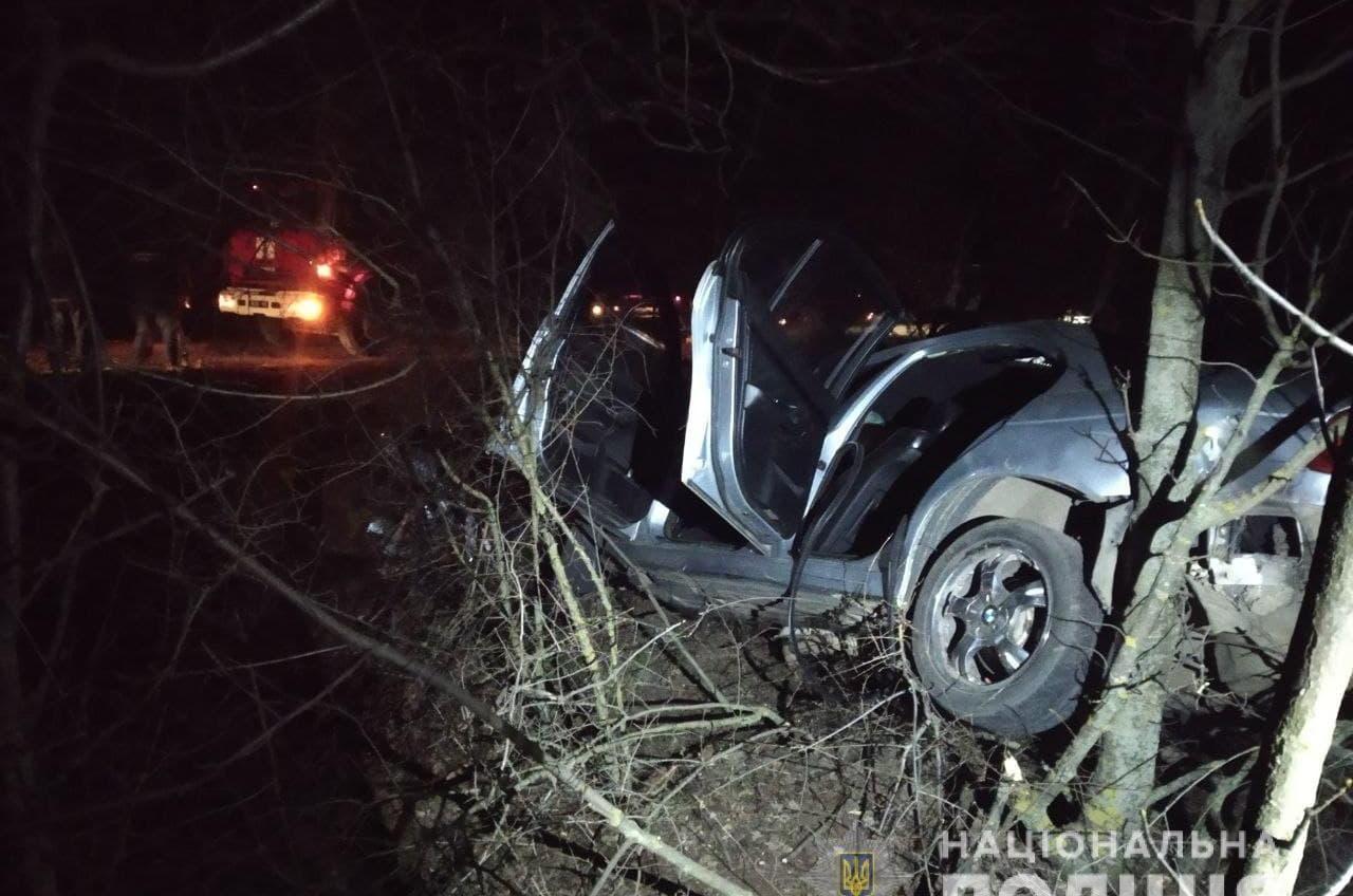 На трассе Одесса-Кучурганы иномарка влетела в дерево: водитель погиб (фото) «фото»