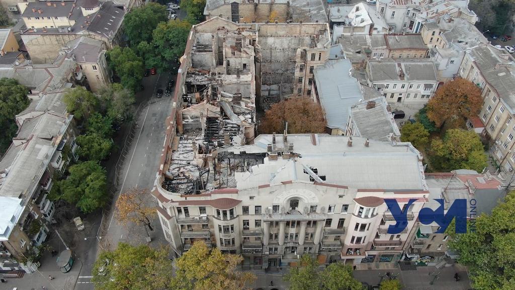 Одесса согласилась принять в собственность города сгоревший колледж на Троицкой «фото»