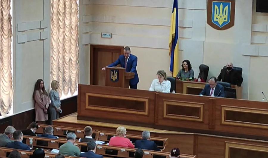 Представили нового председателя Одесского района, он рассказал о планах «фото»