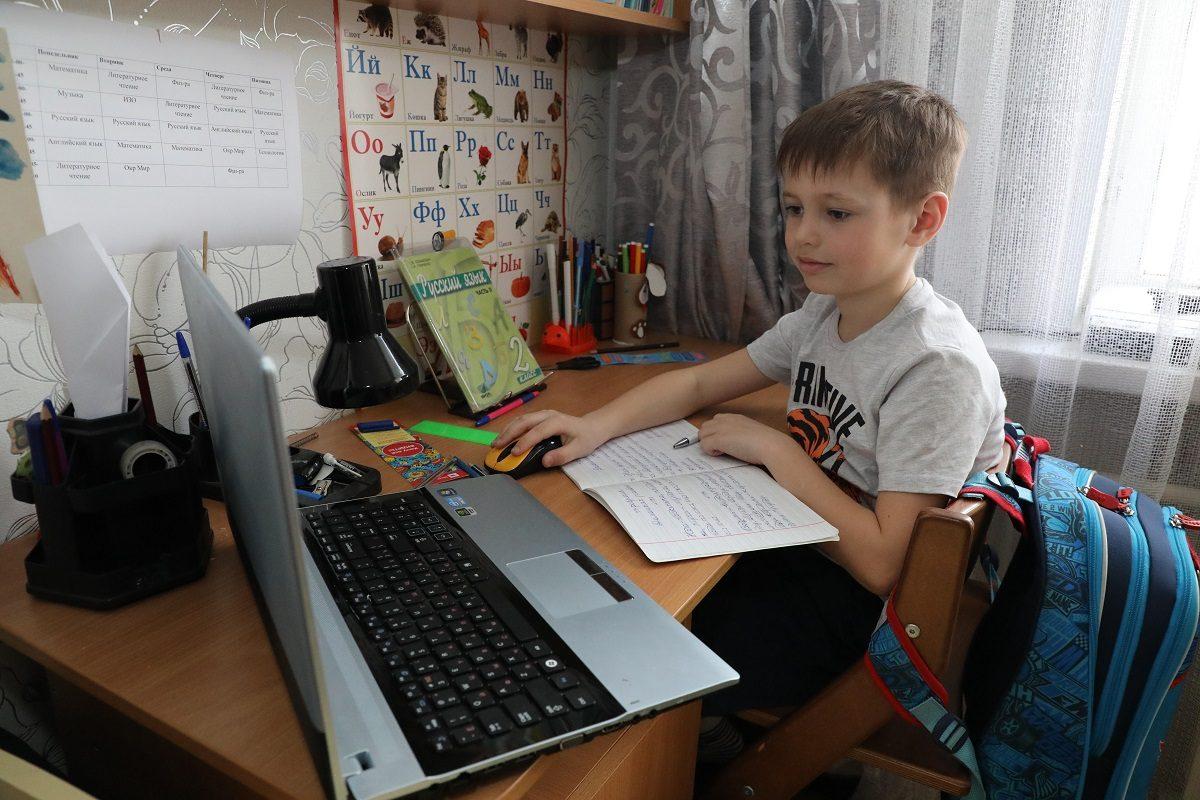 В Одессе почти 180 начальных классов ушли на дистанционку «фото»