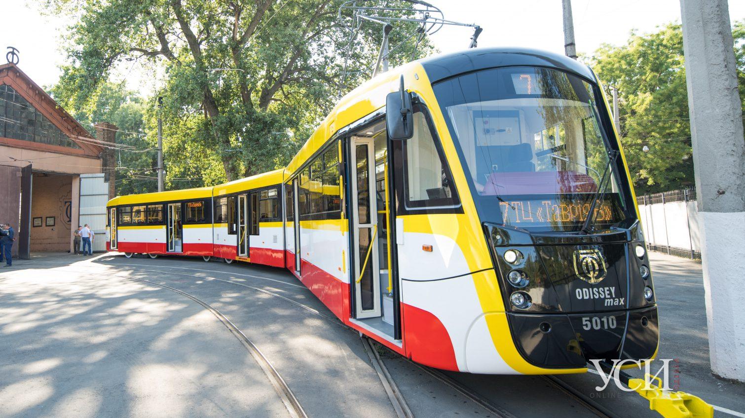 В этом году в Одессе соберут 10 новых трамваев «фото»