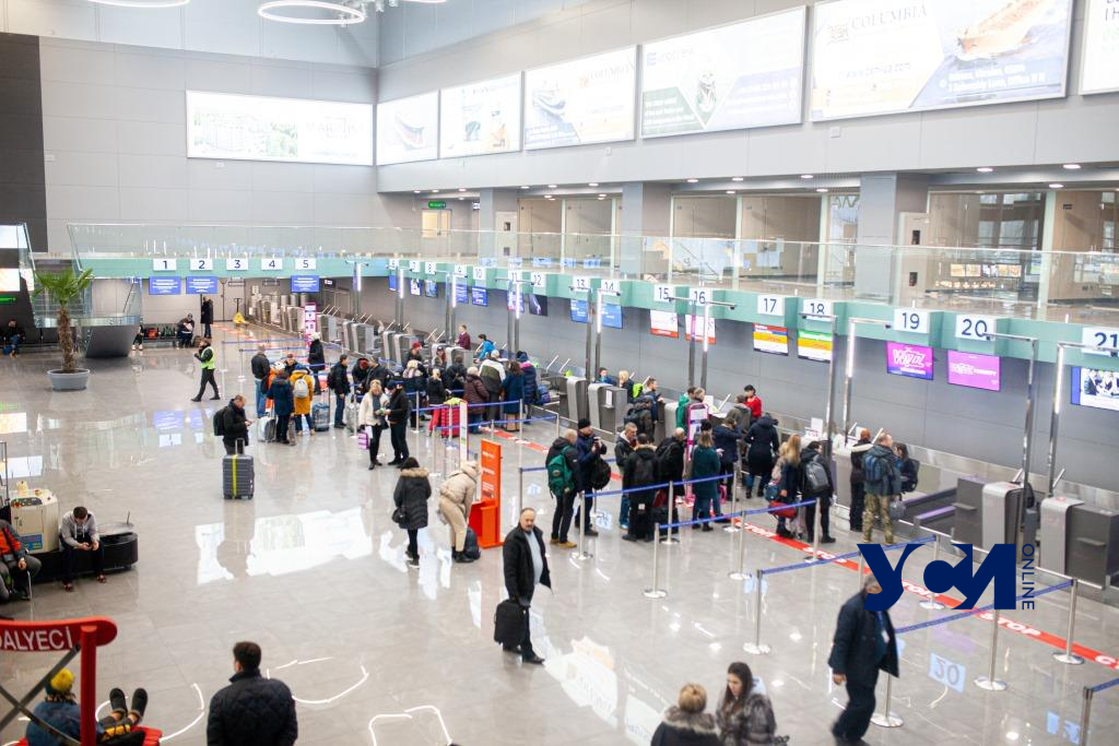Топ-5 направлений пассажиров Одесского аэропорта «фото»