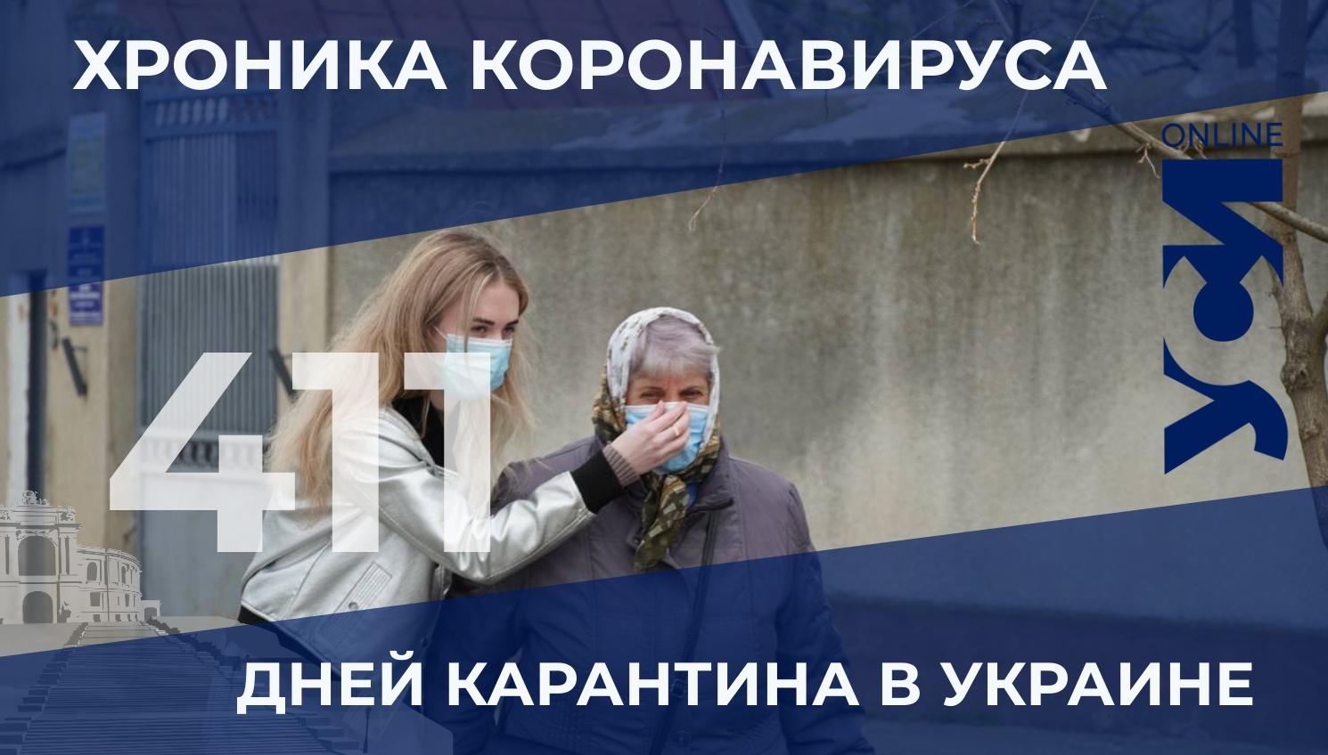 Хроника коронавируса: в Одесской области — 397 новых заболевших «фото»
