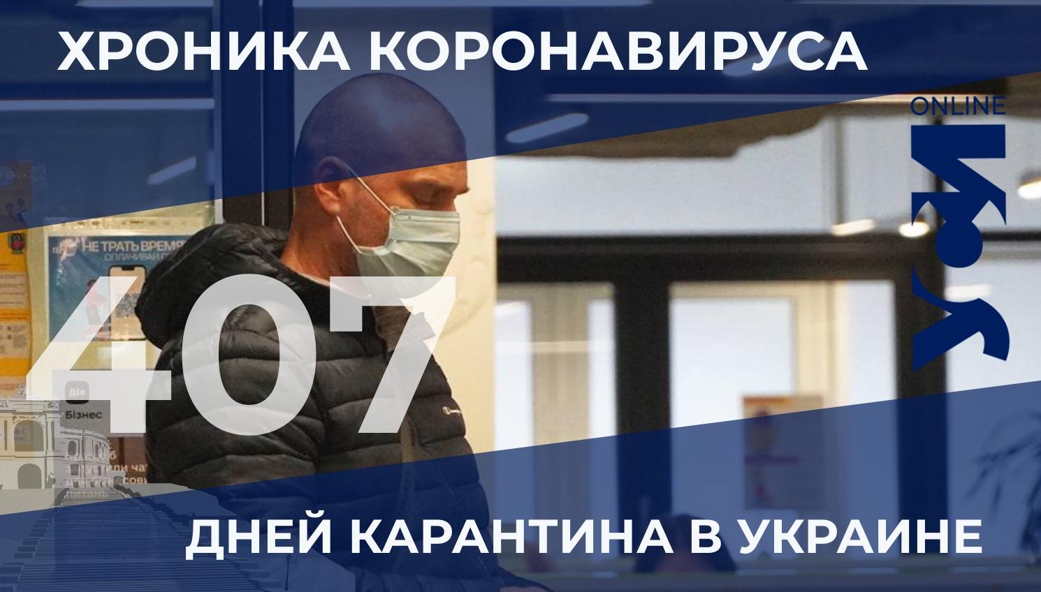 COVID-19: в Одесской области — 36 летальных случаев «фото»