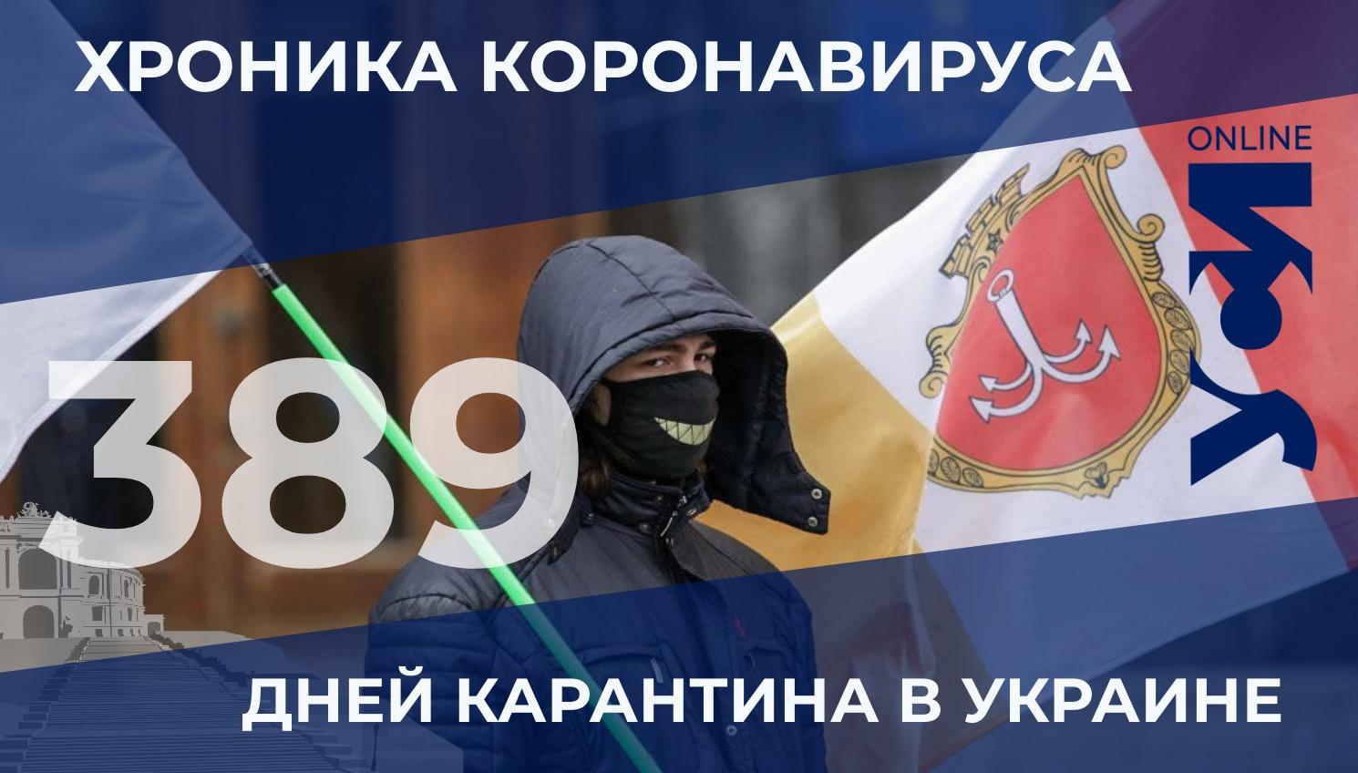 Хроника коронавируса: за сутки более тысячи заболевших в Одесской области «фото»