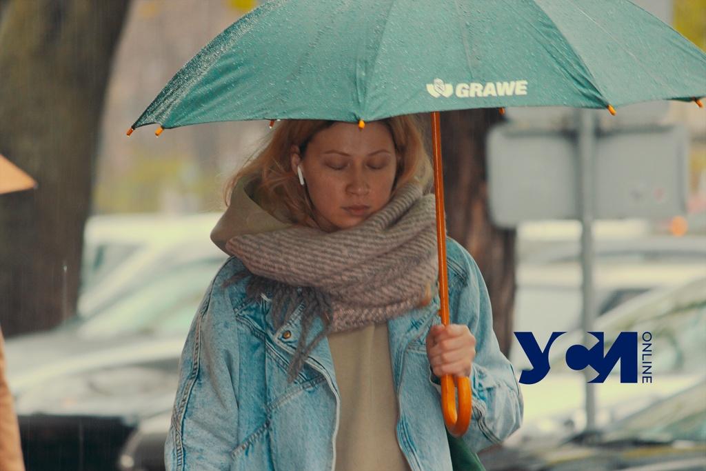 Мокрые улицы: дождливое приближение мая в Одессе (фото) «фото»