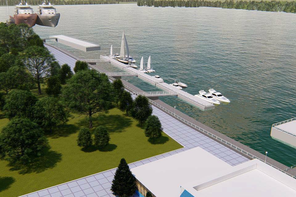 Из Измаила в Румынию запустят пассажирские катера, а в порту построят стоянку для яхт «фото»