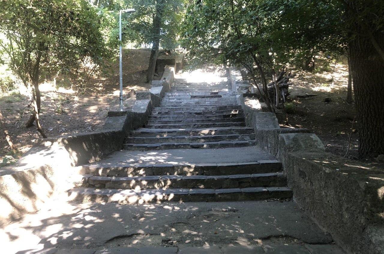 В Одессе выделят 2,6 миллионов на ремонт Курсантской лестницы «фото»