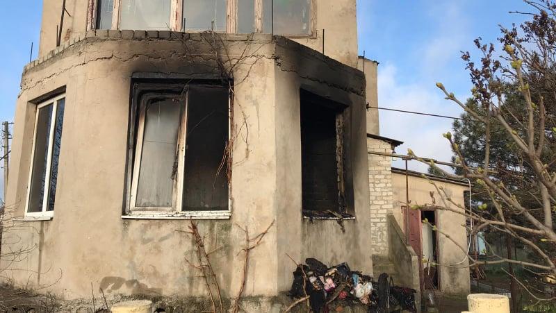 В селе под Одессой при пожаре погибла женщина (фото) «фото»