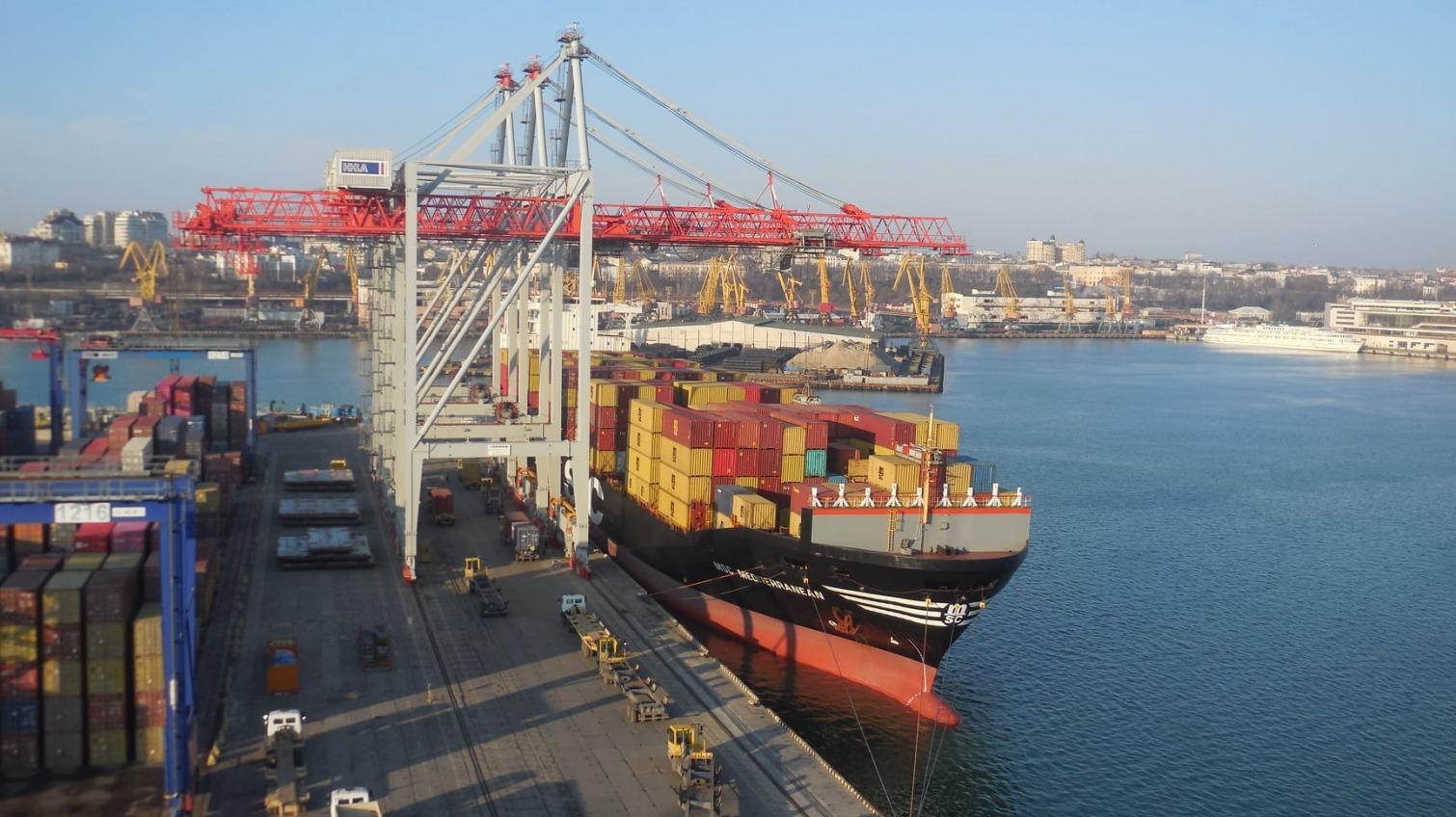 В Одесском порту обработали 70% всех контейнеров в портах Украины «фото»
