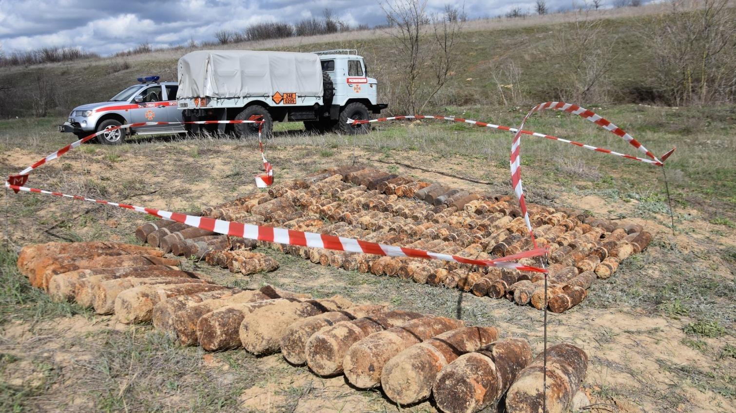 В Одесской области нашли 345 снарядов времен Второй мировой (фото) «фото»