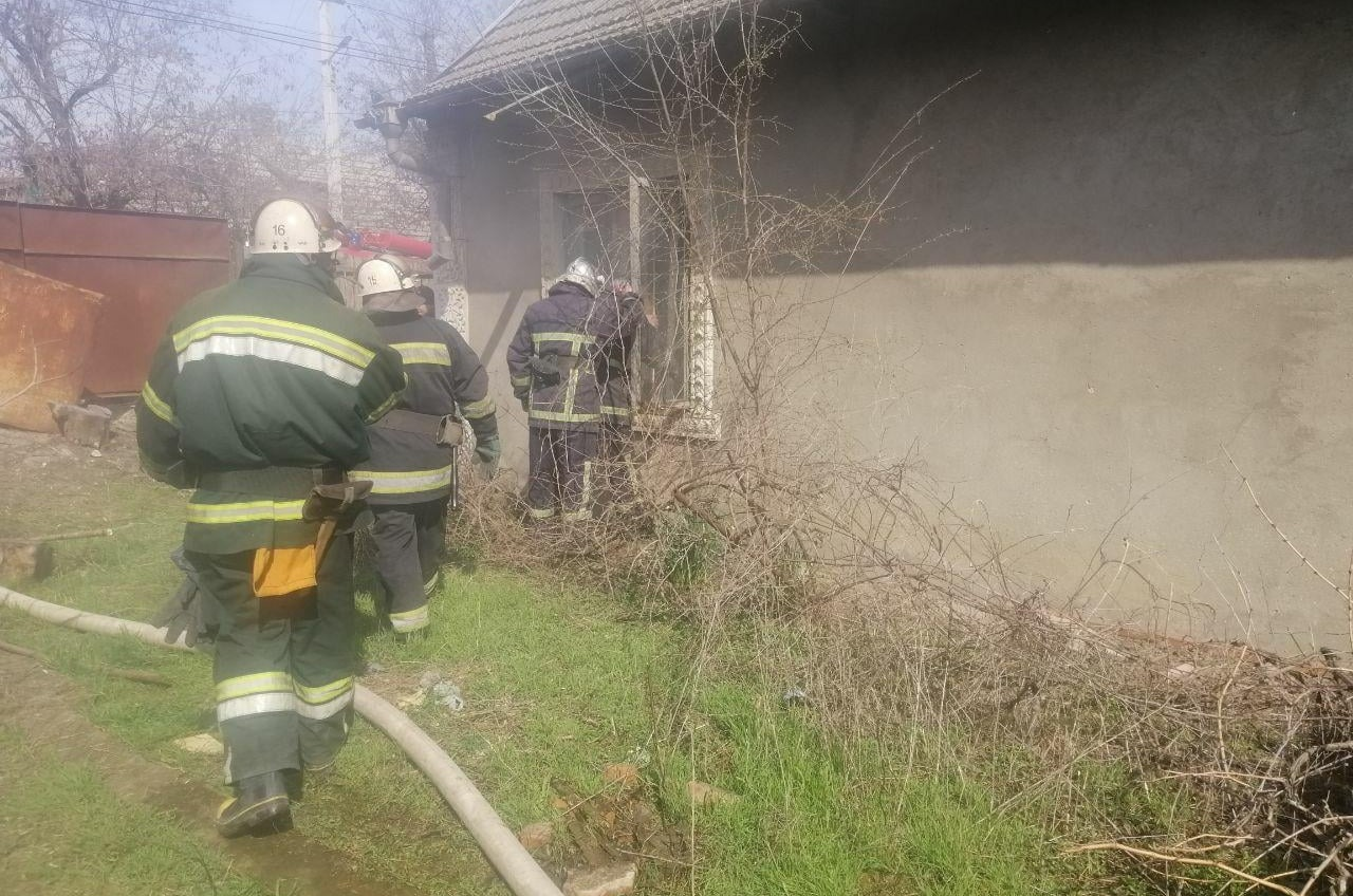 На пожаре в Одесской области погиб пенсионер (фото) «фото»
