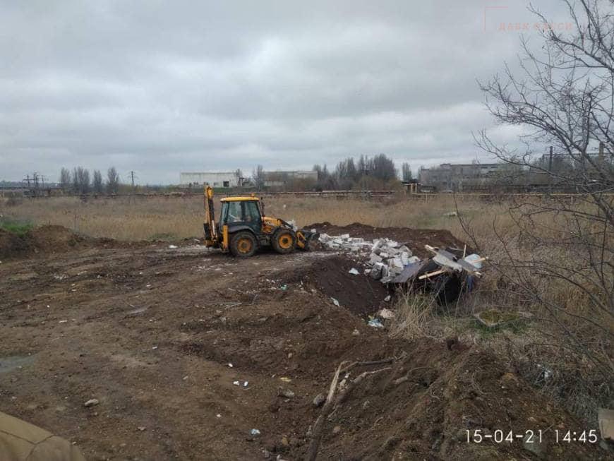 На новой дороге в порт Одессы снесли два дома (фото) «фото»