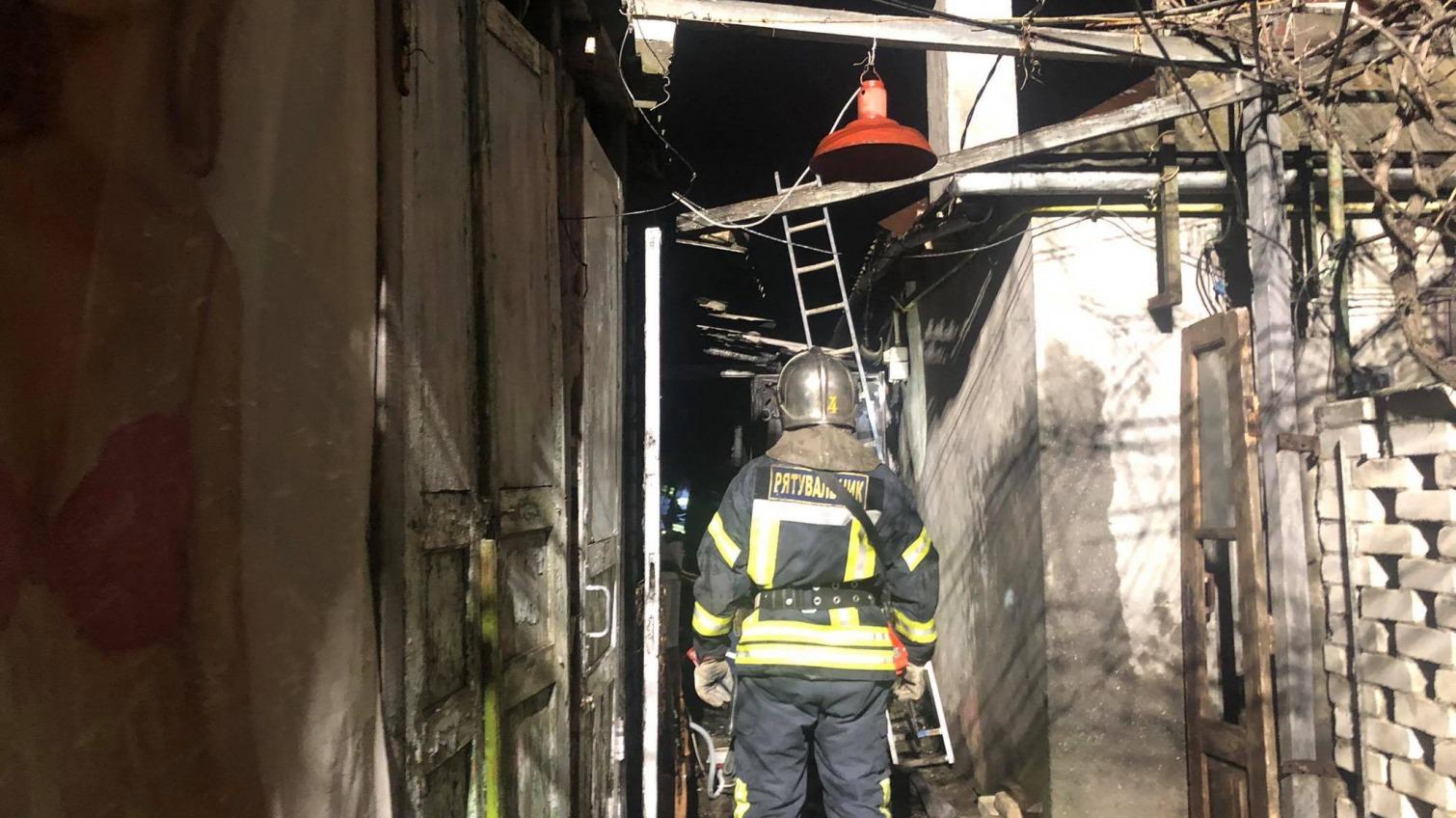 В Одессе при пожаре умерла женщина и пострадал мужчина (фото) «фото»