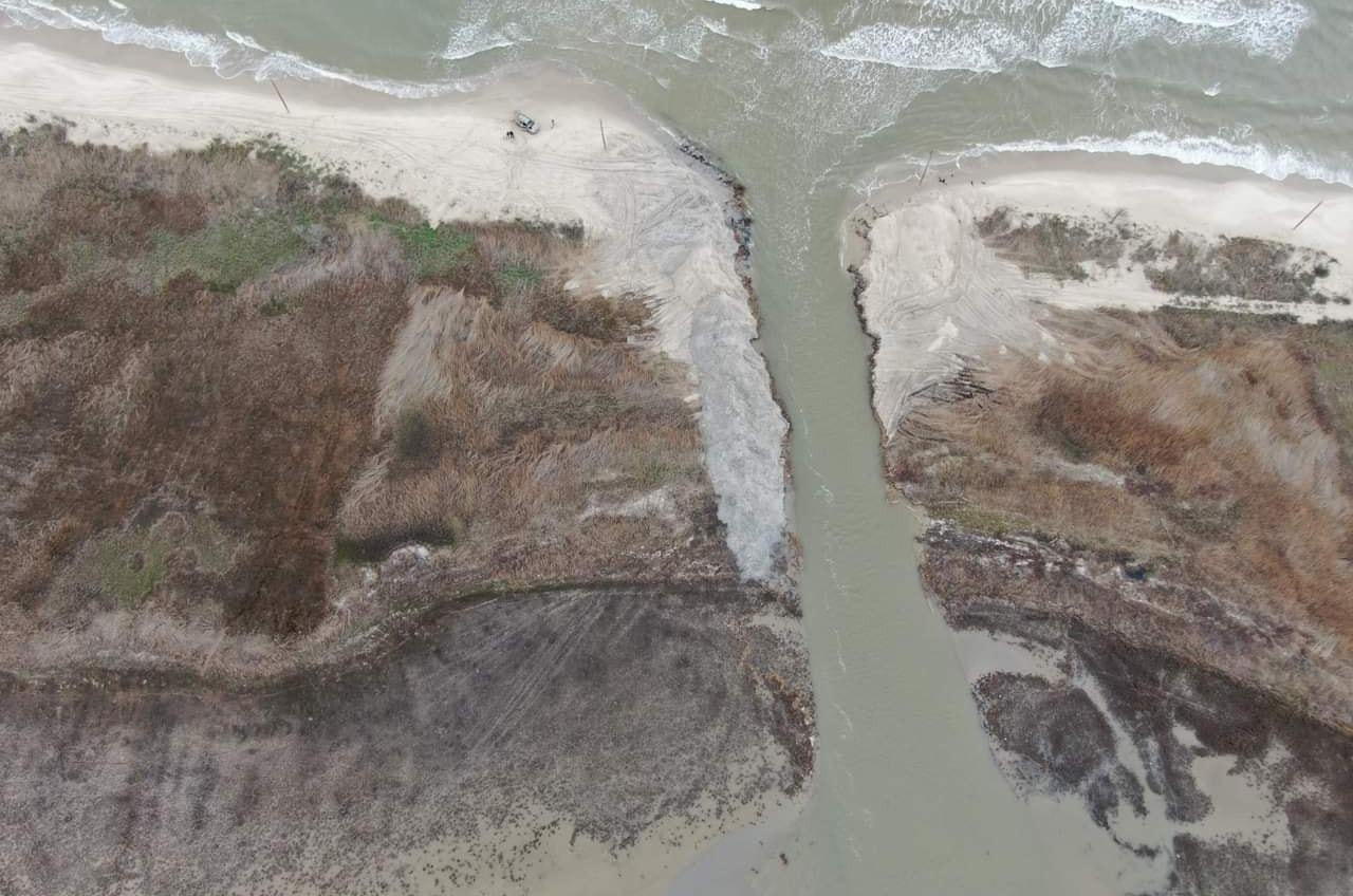 Сама природа решила спасти пересыхающие лиманы нацпарка (фото,  видео) «фото»