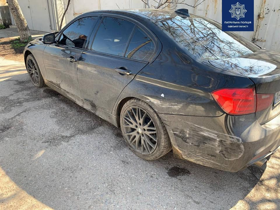 Погоня и стрельба на поселке Котовского: лихач протаранил авто копов (фото, видео) «фото»