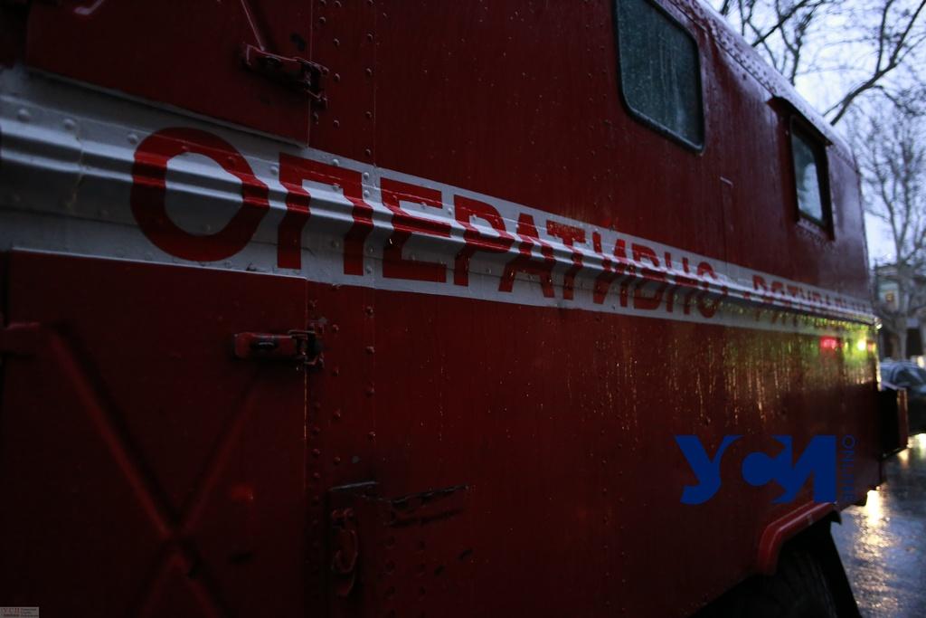 В селе на юге Одесской области горел магазин «фото»