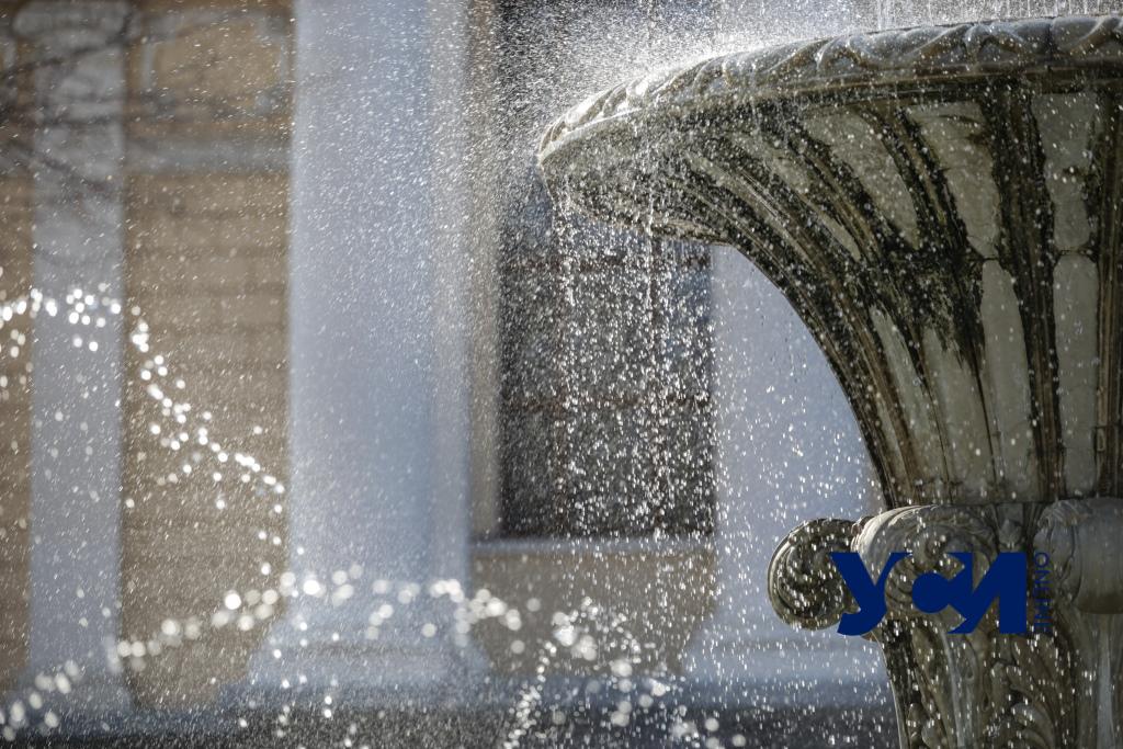 Настоящая весна: в Одессе заработало 9 фонтанов «фото»