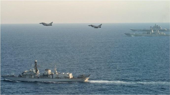 К Черному морю направят часть Королевского флота Великобритании «фото»